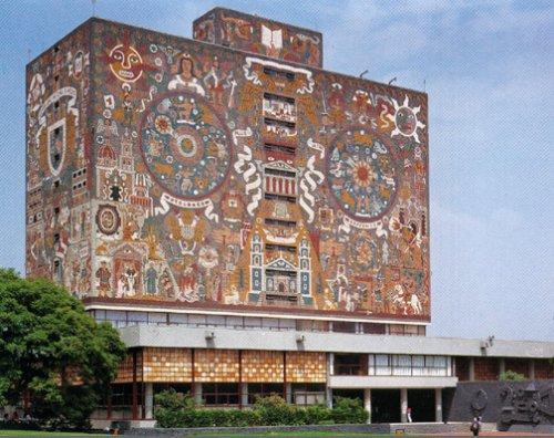 Biblioteca central de la universidad nacional aut noma de for Universidades para arquitectura