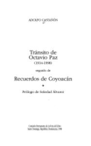 Tránsito de Octavio Paz :1914-1998