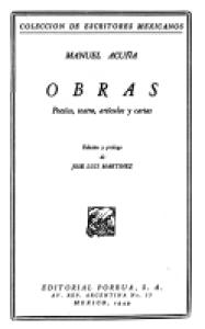 Obras : poesías, teatro, artículos y cartas