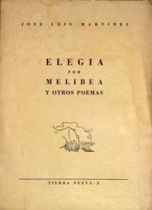 Elegía por Melibea y otros poemas