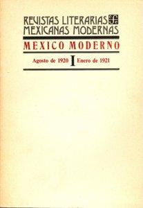 México moderno : revista de letras y arte, I-III