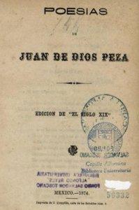 """Poesías : edición de """"El siglo XIX"""""""