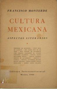 Aspectos literarios de la cultura mexicana
