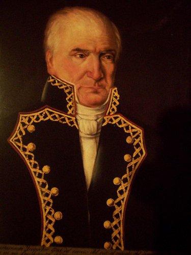 Foto: Anónimo 1836. Óleo sobre tela. Museo Nacional de Historia. Conaculta, INAH