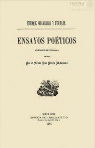 Ensayos poéticos