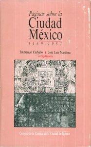Páginas sobre la ciudad de México : 1469-1987