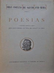 Obras completas del maestro Justo Sierra I : poesías