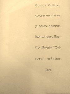 Colores en el mar y otros poemas