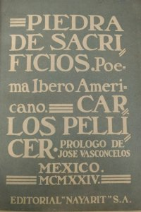 Piedra de sacrificios : poema iberoamericano
