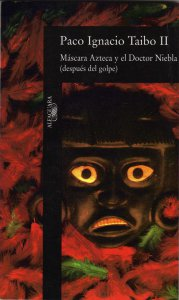Máscara azteca y doctor Niebla (después del golpe)