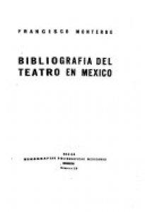 Bibliografía del teatro en México