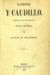 Sacerdote y caudillo : memorias de la insurrección : novela histórica mexicana