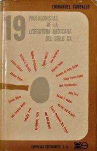 Diecinueve protagonistas de la literatura mexicana del siglo XX