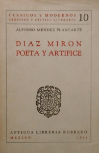 Díaz Mirón, poeta y artífice