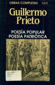 Poesía popular : poesía patriótica