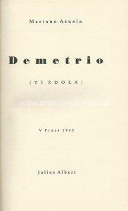 Demetrio : Ti zdola