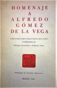 Homenaje a Alfredo Gómez de la Vega