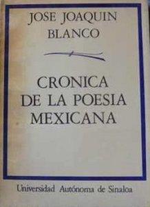 Crónica de la poesía mexicana