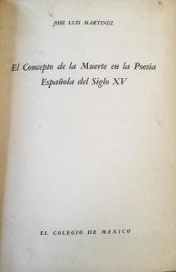 El concepto de la muerte en la poesía española del siglo XV