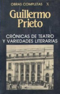 Crónicas de teatro y variedades literarias