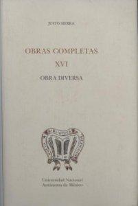 Obras completas XVI. Obra diversa