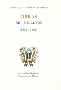 Obras : XII folletos (1822-1824)