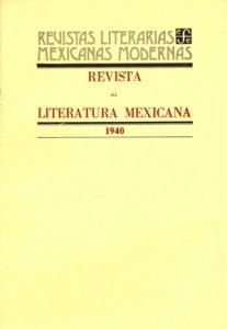 Revista de literatura mexicana : 1940