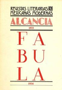 Alcancía : 1933 ; Fábula : 1934