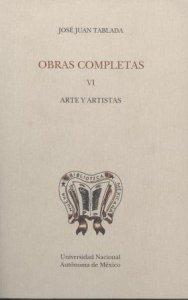 Obras VI. Arte y artistas