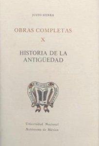 Obras completas X. Historia de la antigüedad.