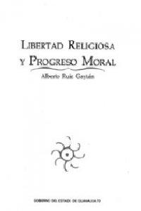 Libertad religiosa y progreso moral