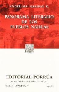 Panorama literario de los pueblos nahuas