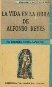 La vida en la obra de Alfonso Reyes