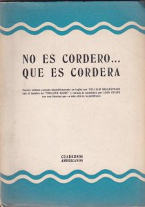 No es Cordero... que es Cordera