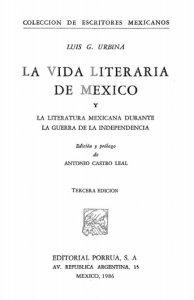 La literatura mexicana durante la guerra de la Independencia