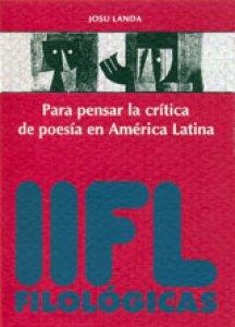 Para pensar la crítica de poesía en América Latina