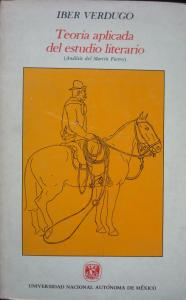 Teoría aplicada del estudio literario : análisis del Martín Fierro