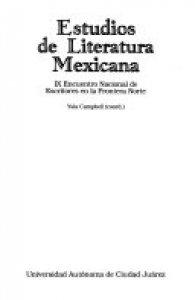 Estudios de literatura mexicana