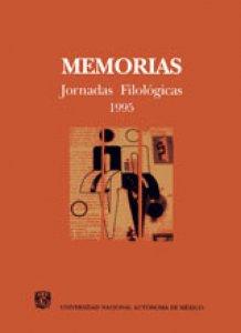 Memorias: Jornadas Filológicas 1995