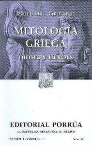 Mitología griega, dioses y héroes