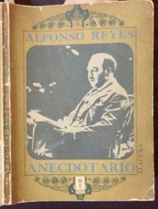 Anecdotario de Alfonso Reyes