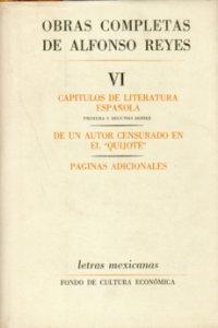 """Capítulos de literatura española : primera y segunda series. De un autor censurado en el """"Quijote"""" ; páginas adicionale"""