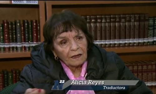 Alicia Reyes traduce <i>El cementerio marino</i>