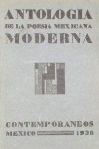 Antología de la poesía mexicana moderna [1928]