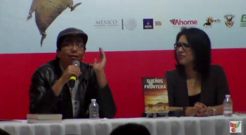 Antonio Guadarrama presenta su libro Sueños de Frontera