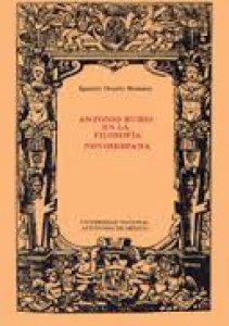 Antonio Rubio en la filosofía novohispana