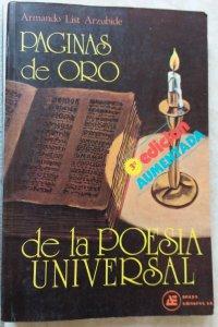 Páginas de oro de la poesía universal