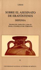 Sobre el asesinato de Eratóstenes. Defensa