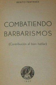 Combatiendo barbarismos