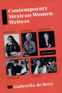 Contemporary Mexican Women Writers